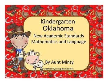 Oklahoma Kindergarten Math, Language Academic Standards 2017-2018