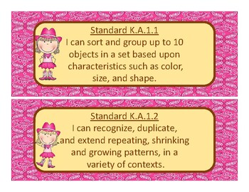 2017-2018Oklahoma Kindergarten Math, Language Academic Standards
