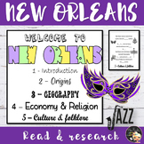 New Orleans Informational Text Flapbook