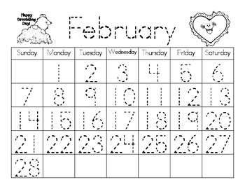 Perpetual Calendar Templates: Use Forever & Ever!  (+ blanks)