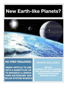 Science Current Event -- Planets