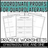 New! Quadrilateral Proofs on the Coordinate Plane ** FLASH