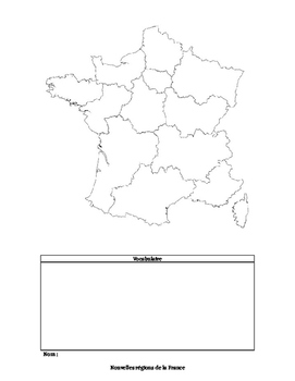 New Regions of France Project - Target Language