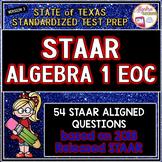 New Release! STAAR ALGEBRA 1 EOC Review TEST PREP (Version 3)