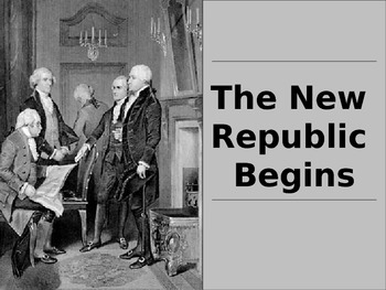 New Republic Begins PowerPoint