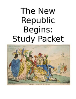 New Republic Begins Study Packet