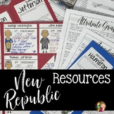 New Republic Lap Book and Content Readings