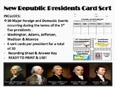 New Republic Presidential Card Sort