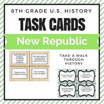 New Republic Task Cards