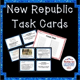 New Republic Task Cards--STAAR Review Friendly!
