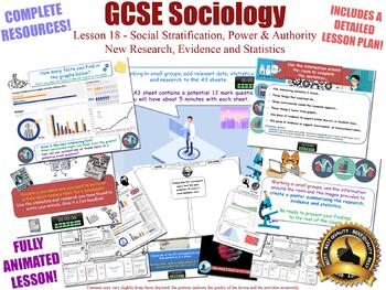 New Research, Evidence & Statistics -Social Stratification- GCSE Sociology 18/20