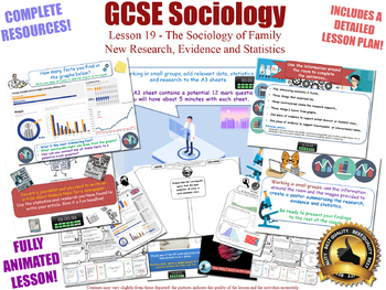 New Research, Evidence & Statistics - Sociology of Family (L19/20)