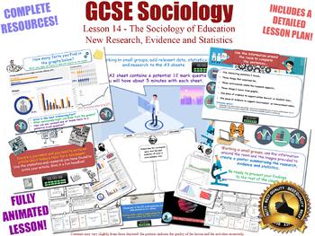 New Research & Statistics - Sociology of Education (GCSE Sociology - L14/20)