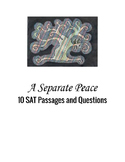 New SAT and PSAT (2016) Assessments using A Separate Peace