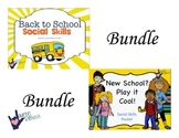New School / Back to School Social Skills BUNDLE