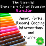 School Counselor Starter Bundle