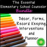 New School Counselor Starter Bundle