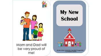 New School Interactive Social Story
