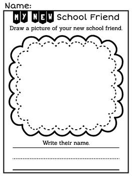 New School, New Friend Picture Book (Book Video)