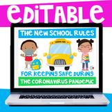 New School Rules During The Coronavirus Pandemic