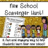 New School Scavenger Hunt!