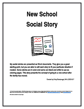 New School Social Story
