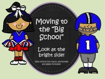 New School- Social Story positive of a new school