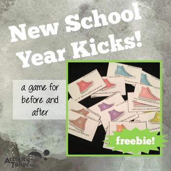 New School Year Kicks FREEBIE
