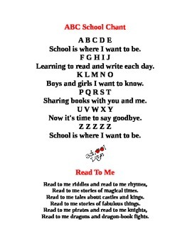 New School Year Song:  I Like to Go to School!