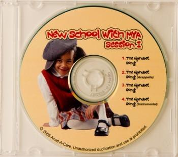 New School with Mya Session I CD & Chart