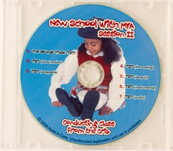 New School with Mya Session II Cd & Chart