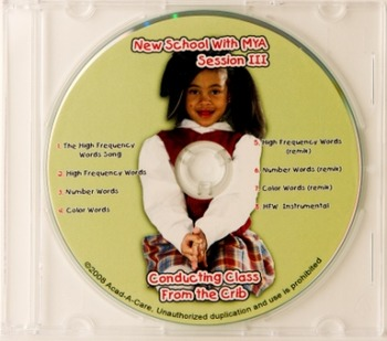 New School with Mya Session III CD & Chart