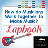 How Musicians Work Together Kindergarten Journeys Unit 5 Lesson 21 Lap book