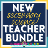 New Science Teacher Essentials Bundle: New Teacher Forms a