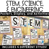 STEM Science and Engineering Practices Posters and Activities