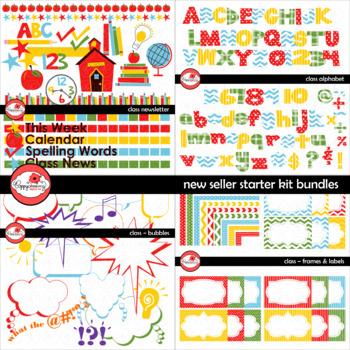 New Seller Starter Kit MEGA BUNDLE - Class Series by Poppydreamz