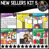 New Sellers Clip Art Kit 5 {Educlips Clipart}