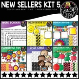 New Sellers Clip Art Kit 5 {Educlips Clipart}