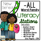 New Series: Word Family -ALL Literacy Stations