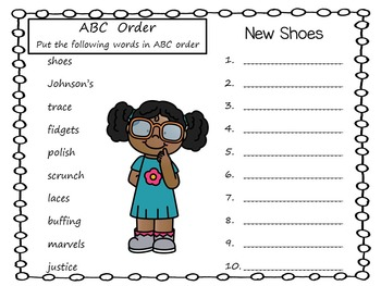 New Shoes  by Susan Lynn Meyer    44 pgs of Common Core Activities.