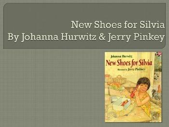 New Shoes for Silvia, Hurwitz, Text Talk Collaborative Con