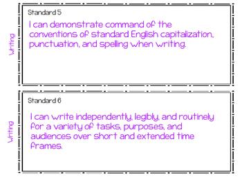 New! South Carolina ELA and Reading Standards for 3rd Grade
