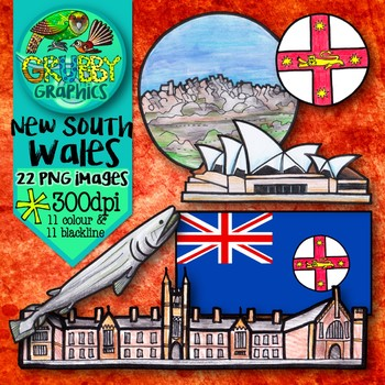New South Wales {Official symbols & landmarks of Australia}