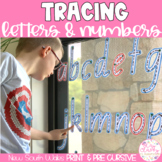 New South Wales Print Write & Wipe Alphabet and Numbers Set