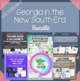 New South in Georgia GSE SS8H7 BUNDLE Elements a-d