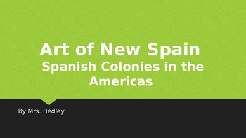 New Spain Art Powerpoint lecture (APAH)