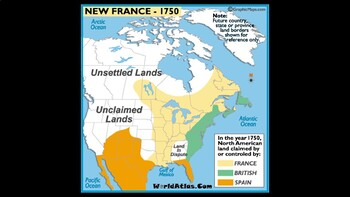 New Spain and New France