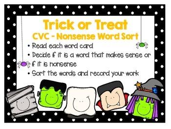 New Spooktacular Halloween Literacy Center Activities