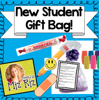 New Student Gift for Back to School!