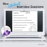New Student Interview Tool